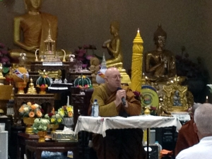 Ajahn Brahm at Chaiya Meditation Monastery in Las Vegas, NV